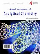 American Journal of Analytical Chemistry