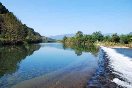 最美水源风景画